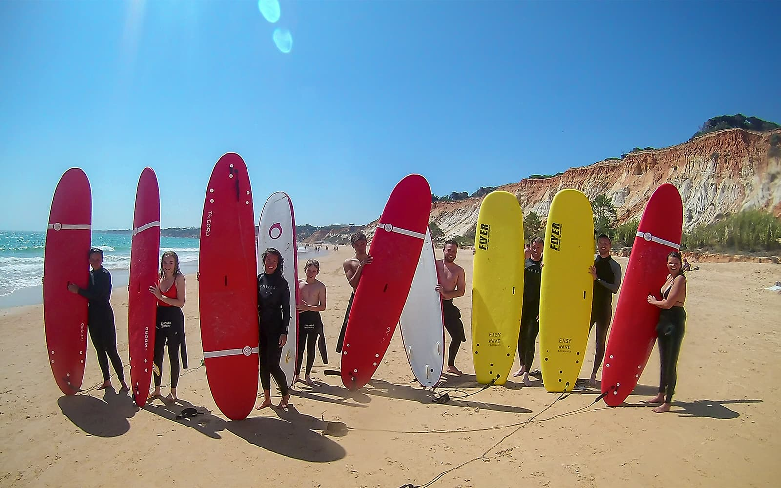 Dia de Surf no Algarve