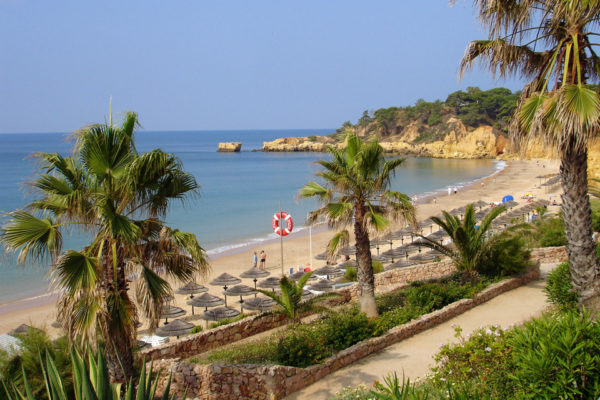 Santa Eulália beach in Albufeira